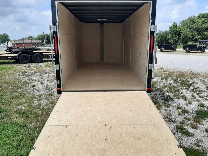 Box Cargo 7'x16' Bumper Pull Enclosed Cargo Trailer