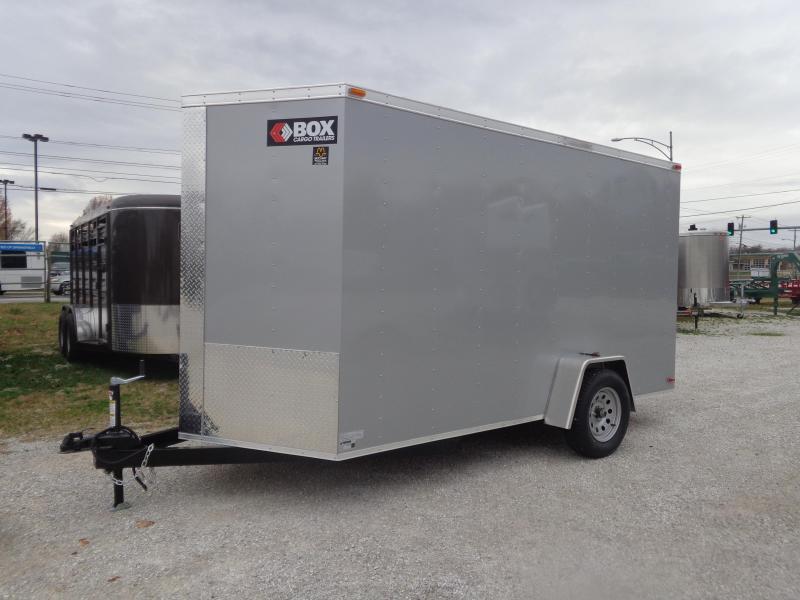 Box Cargo 6'x12' Bumper Pull Enclosed Cargo Trailer