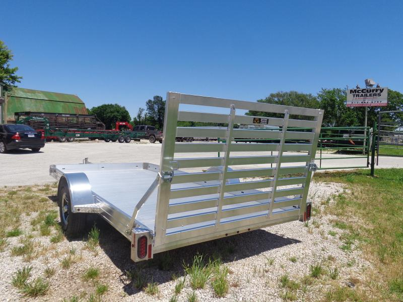 Hillsboro 78 x 14' Bumper Pull Aluminum Utility Trailer