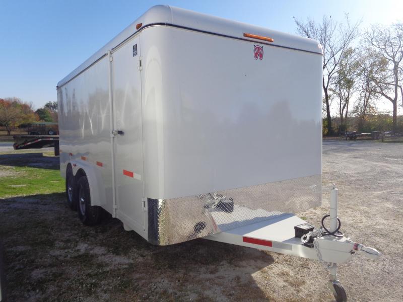 W-W Trailer 16 x 8 Enclosed Cargo Trailer