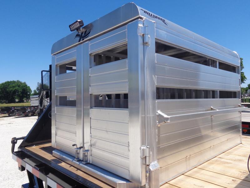 Hillsboro Industries 48 x 72 Aluminum Stock Box Truck Boxes (Livestock and Dog)