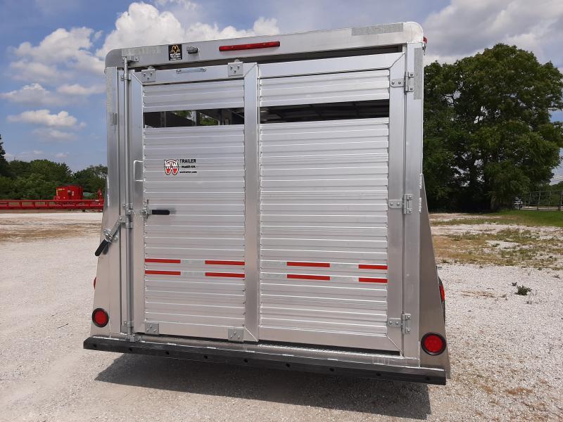 W-W 16x6 Aluminum All Around Bumper Pull Stock