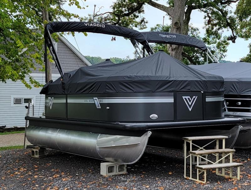 2022 Misty Harbor Del Mar 16C Pontoon Boat