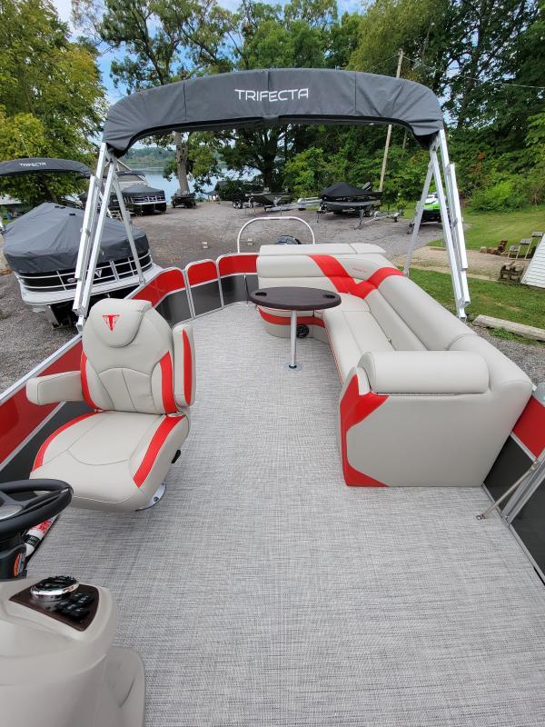 2022 Trifecta Pontoon 24C LE 2.75 Pontoon Boat
