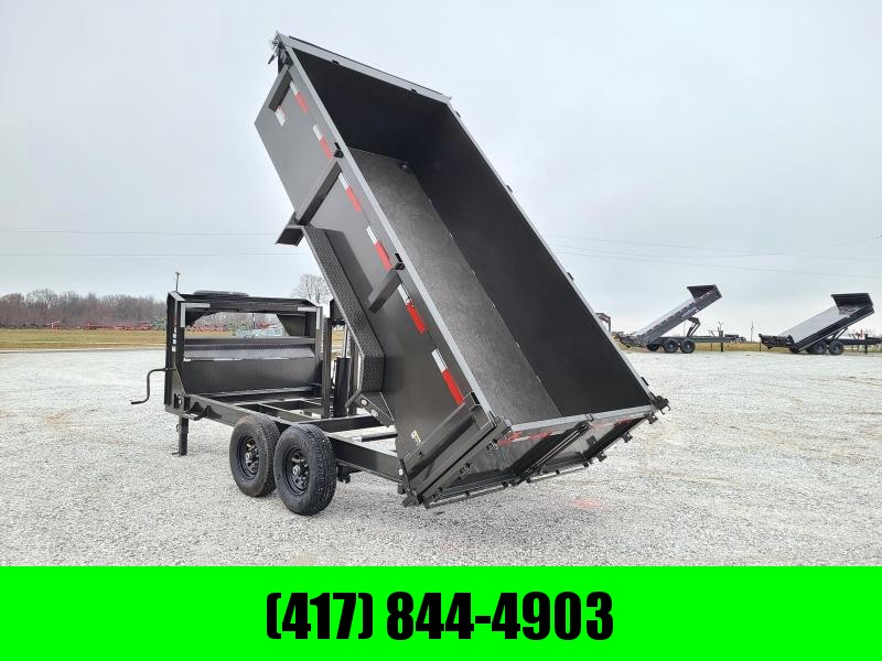 2021 MAXXD 83x14 Tandem GN Dump Trailer