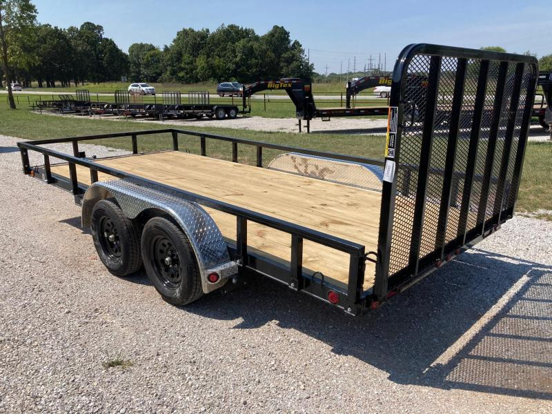 2022 Load Trail 83X16 TANDEM 7K UTILITY W/ 4' FOLD GATE AND REMOVEABLE SIDES