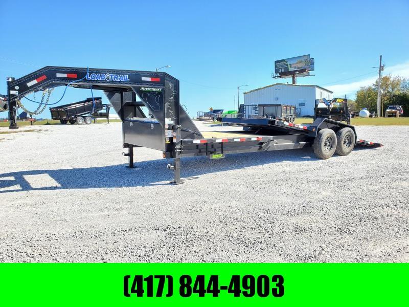"2022 Load Trail 83"" X 24' Tilt-N-Go Gooseneck Tandem Axle Tilt Deck I-Beam Frame"