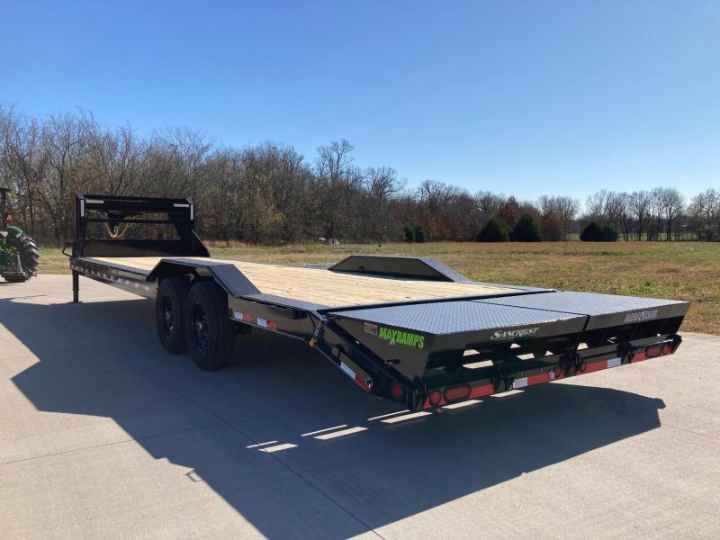 2021 Load Trail 102x32 Tandem GN Carhauler/Equipment Trailer