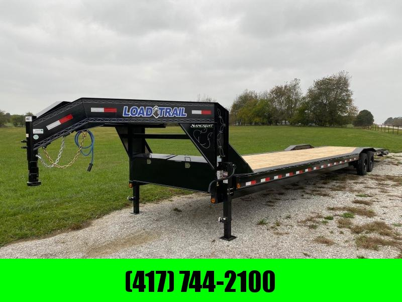 2022 Load Trail 102x40 Tandem 16k GN Carhauler W / Drive Over Fenders