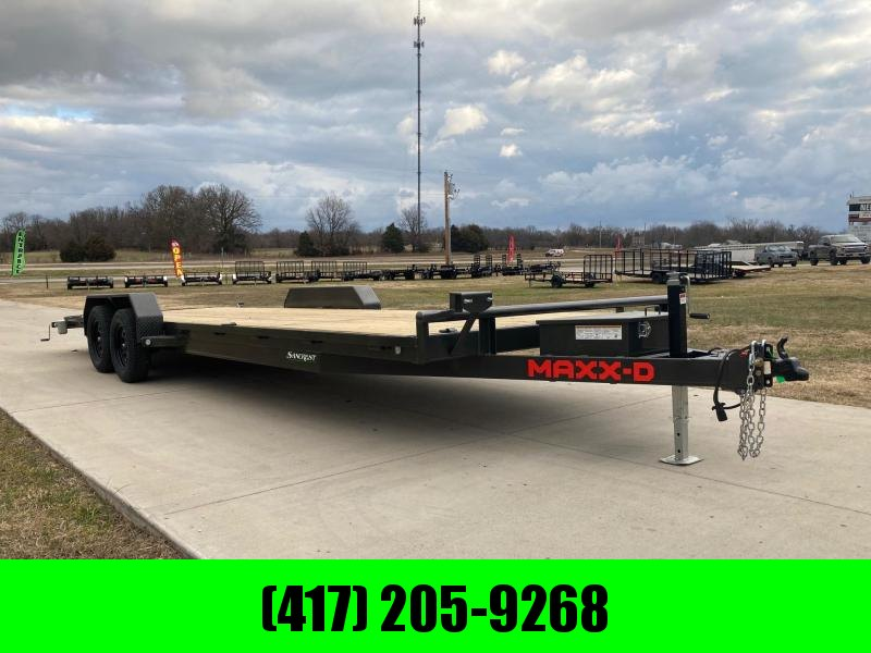 2021 MAXXD 83X24 Tandem Equipment Trailer