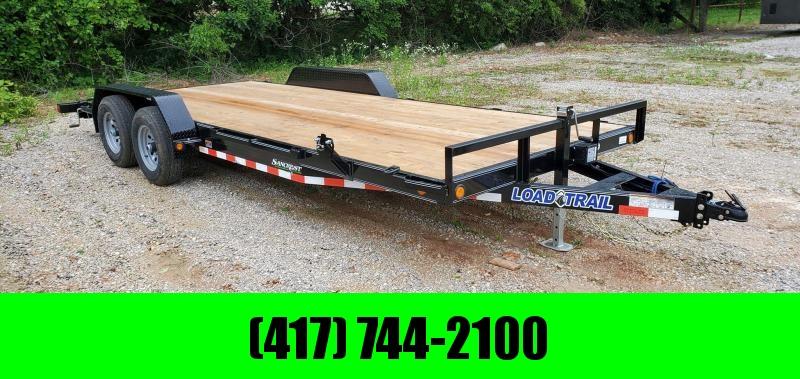 2020 Load Trail 83X20 TANDEM 10K CAR HAULER W/SLIDE OUT RAMPS & STAB JACKS