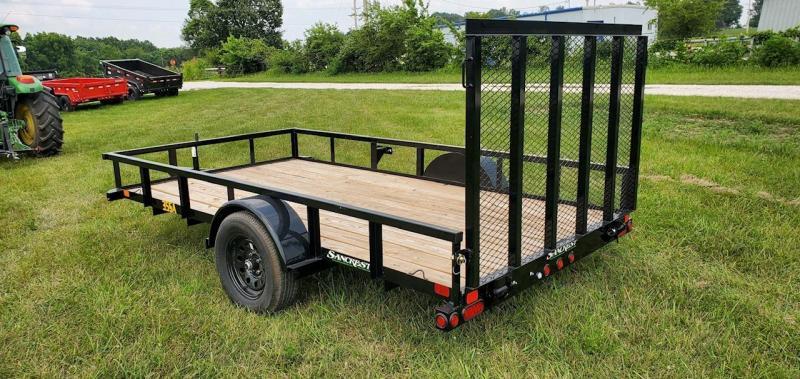 2022 Big Tex 77x12 SINGLE 3.5K UTILITY W/ 4' FOLDING GATE
