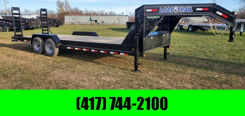 2021 Load Trail 83X24 TANDEM 14K GN EQUIPMENT HAULER W/STAND UP RAMPS