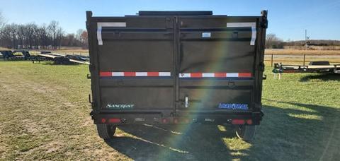 """2021 Load Trail 83X16 TRIPLE 21K GN DUMP W/48"""" SIDES"""