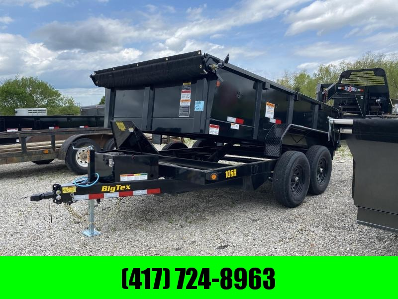 2021 Big Tex 83x12 10k  Dump Trailer