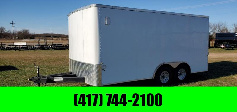 "2017 Cargo Craft 8.5X16 TANDEM 7K CARGO W/6'6"" HEIGHT FINISHED INTERIOR W/INSULATION"