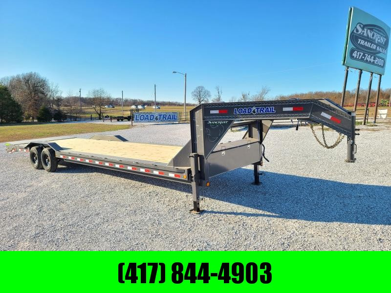 2021 Load Trail 102X32 TANDEM 14K GN EQUIPMENT HAULER W/MAX RAMPS