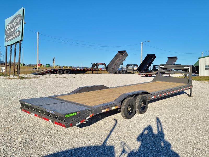 2021 Load Trail 102X32 TANDEM 14K GN EQUIPMENT HAULER W/MAX RAMPS