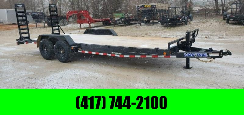 2021 Load Trail 83X22 TANDEM 14K EQUIPMENT HAULER W/STAND UP RAMPS
