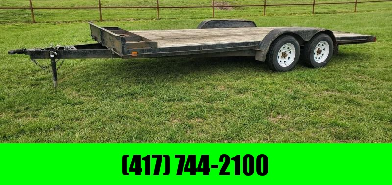 1996 Starlite 83X18 TANDEM 7K CAR HAULER W/SLIDE OUT RAMPS