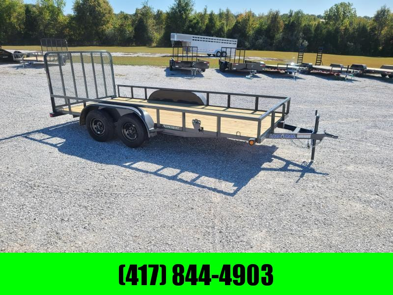 2021 Load Trail 83 x 16 Tandem Axle Utility 2 x 3 Angle Frame