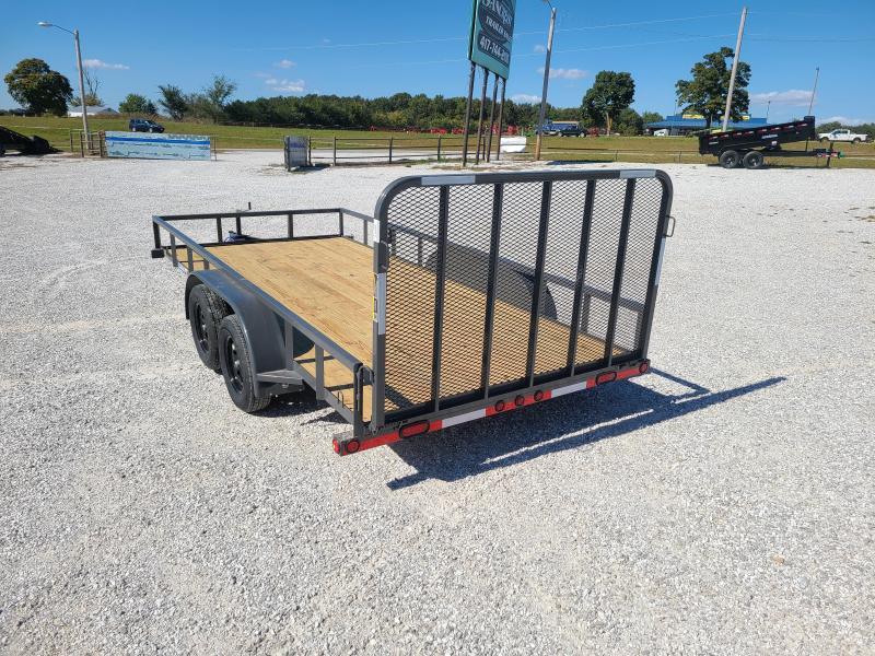 2021 Load Trail 83 x 16 Tandem Axle Utility 2 x 3 Angle Frame