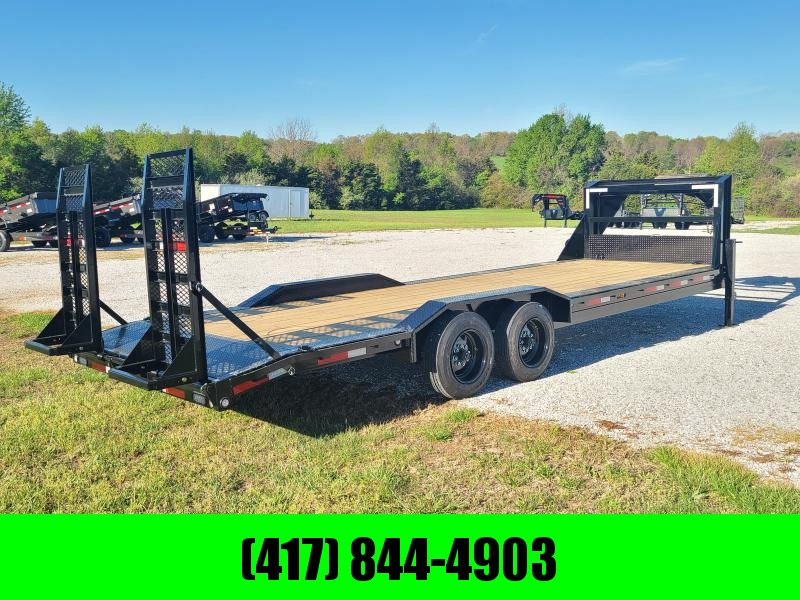 2021 MAXXD 102X26 TANDEM GN W/8K AXLES & FOLD UP RAMPS