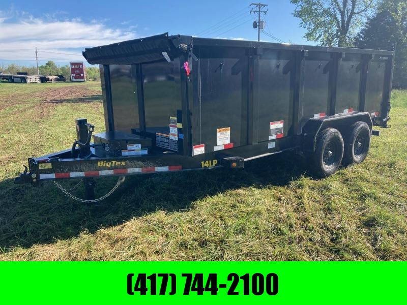 2021 Big Tex Trailers 83x16 TANDEM 7K DUMP W/ 4FT SIDES