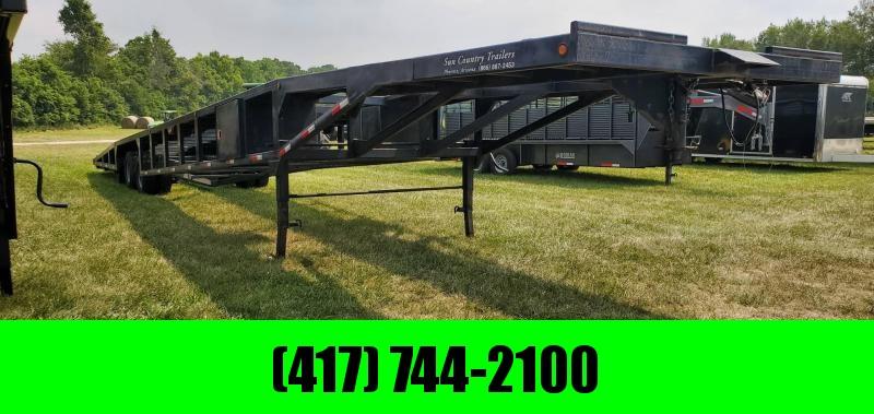 2016 Sun Country 102X53 3 CAR WEDGE W/12K AXLES & 14 PLY