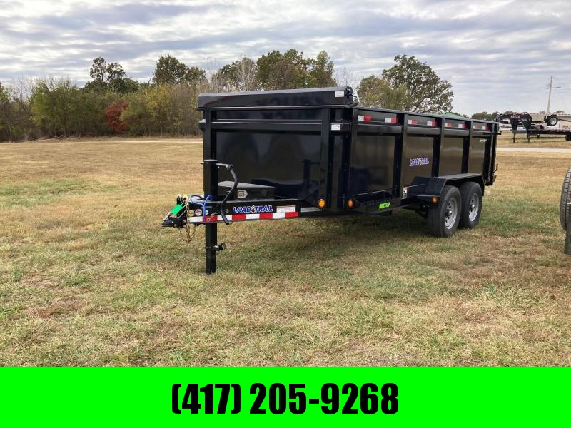 2021 Load Trail 83x16 Tandem Dump Trailer W/ 3 FT Sides