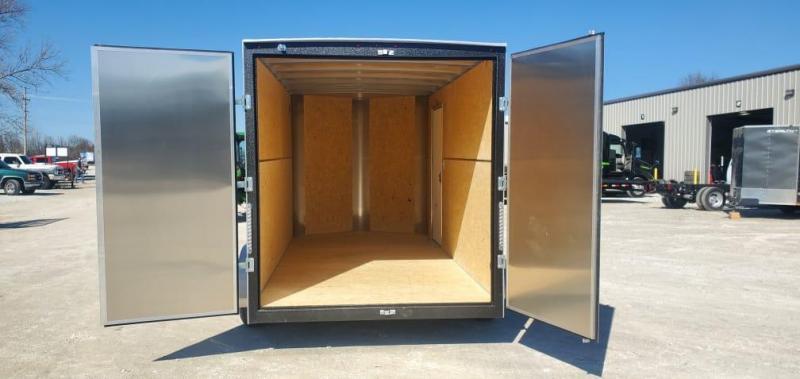 2021 H&H 7X14 TANDEM 10K CARGO W/7FT HEIGHT & BARN DOORS