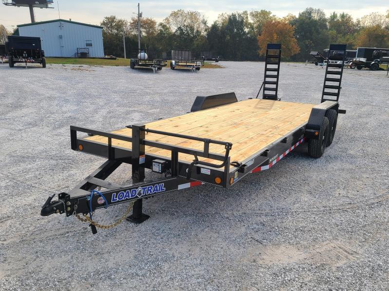 2021 Load Trail 83X22 TANDEM 14K EQUIPMENT HAULER W/STAND UP RAMPS