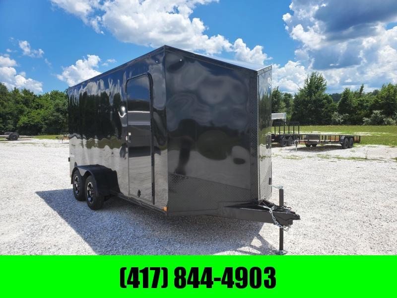 2021 Impact Trailers 7X16 BLACKOUT CARGO