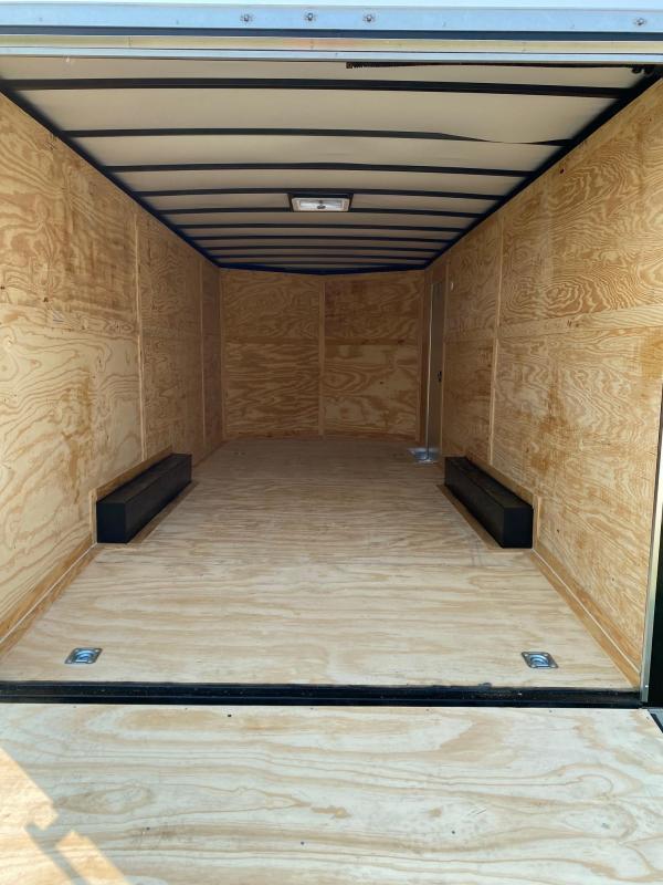 2022 Rock Solid 8.5X20 10k Cargo With Ramp Door