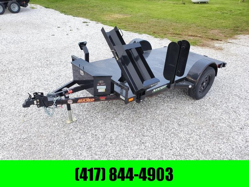 2020 MAXXD 61x10 WET BLACK WELDING TRAILER W/STEEL FLOOR