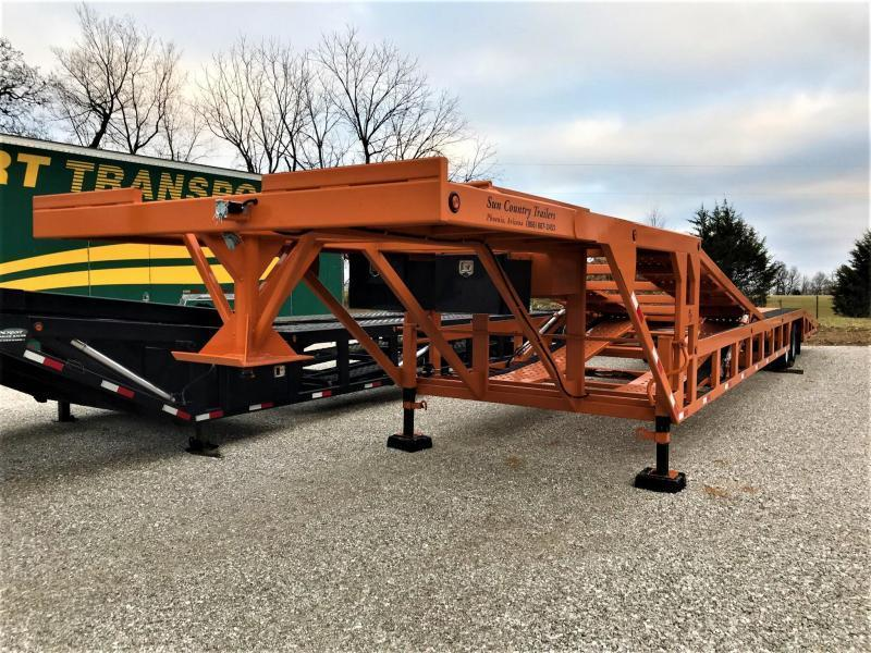 2021 SUN COUNTRY 4 CAR DROPDECK TRAILER