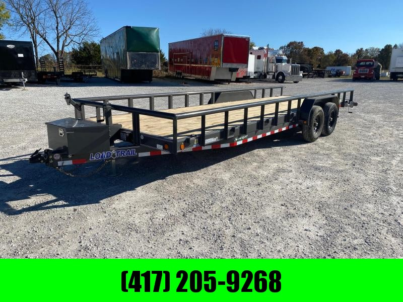 2021 Load Trail 83X24 TANDEM CH W / SIDE RAILS & TOOL BOX