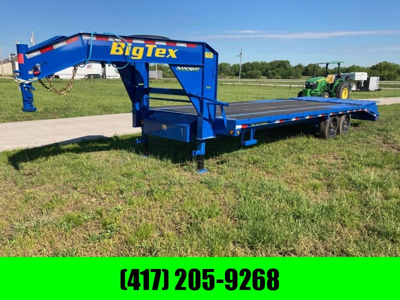2021 Big Tex 102x25 Tandem 16K GN Flatbed Trailer