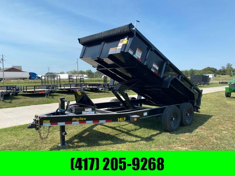 """2022 Big Tex 83x14 Dump 14k With 24"""" Sides"""