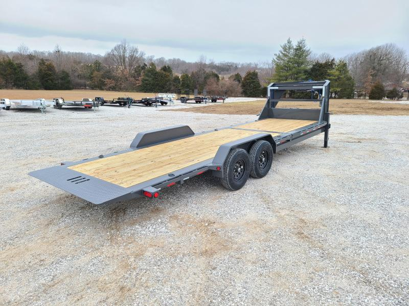 "2021 Load Trail 83"" X 24' Tilt-N-Go Gooseneck Tandem Axle Tilt Deck I-Beam Frame"