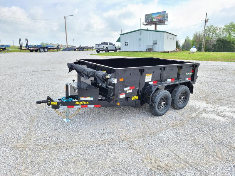 """2021 Big Tex Trailers TANDEM 10K 72X10 DUMP W/24"""" SIDES AND SLIDE IN RAMPS"""