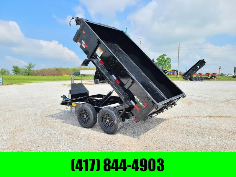 "2021 Big Tex Trailers TANDEM 10K 72X10 DUMP W/24"" SIDES AND SLIDE IN RAMPS"