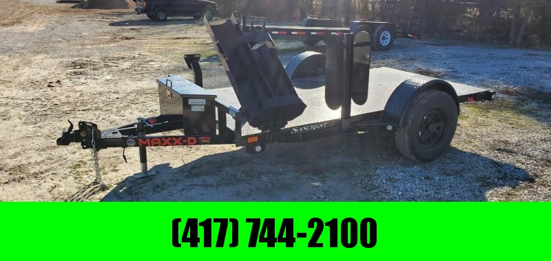 2021 MAXXD 61X10 SINGLE 3.5K WELDING TRAILER W/ STEEL DECK & TOOLBOX