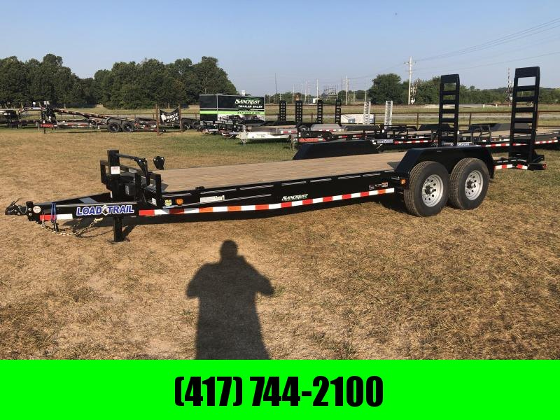 "2021 Load Trail 83""X22' TANDEM 14K CARHAULER Equipment Trailer"