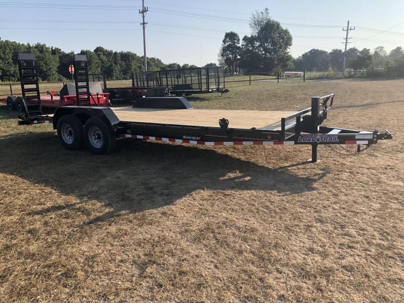 "2021 Load Trail 83""X22' TANDEM 14K CARHAULER Equipment Trailer"