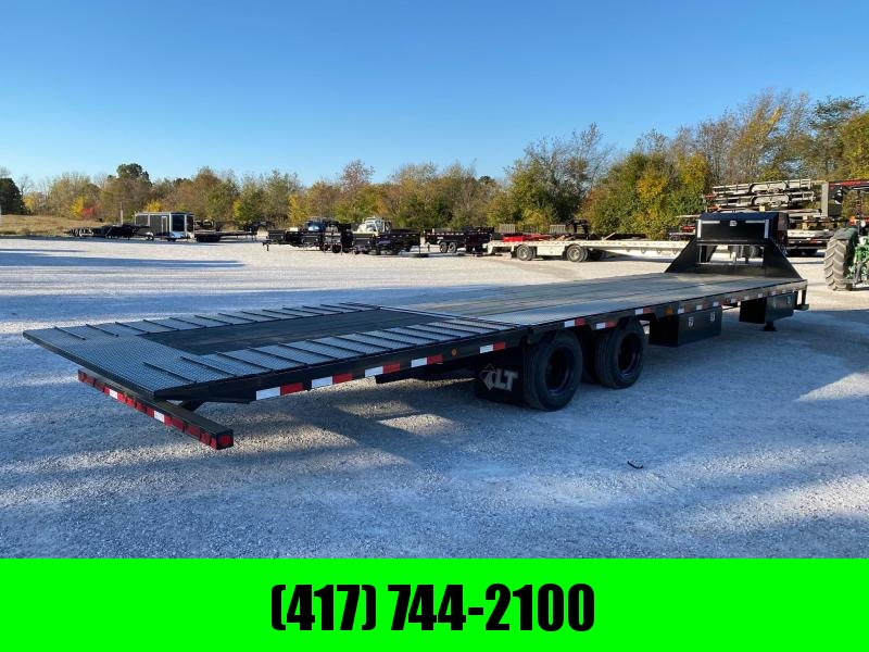 2021 Load Trail 102X34 TANDEM LO-PRO GN W/15K EOH AXLES HYDRO JACKS 10' 7GA HYDROTAIL