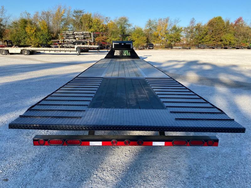 2021 Load Trail 102X34 TANDEM LO-PRO GN W/15K EOH AXLES HYDRO JACKS 10' 7GA HYDROTAIL