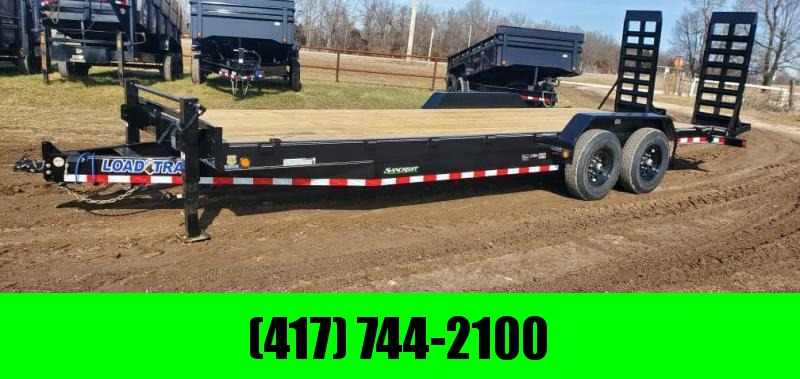"2021 Load Trail 83X24 TANDEM 14K EQUIPMENT HAULER W/ WIDE STAND UPS & 8"" FRAME"