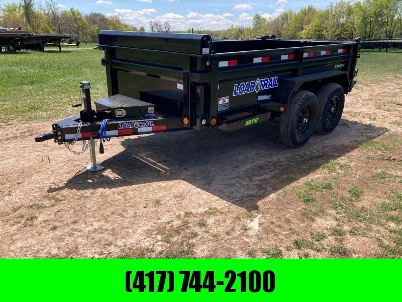 "2021 Load Trail 72""x12' Tandem 10K Dump Trailer w/ 24"" Sides"