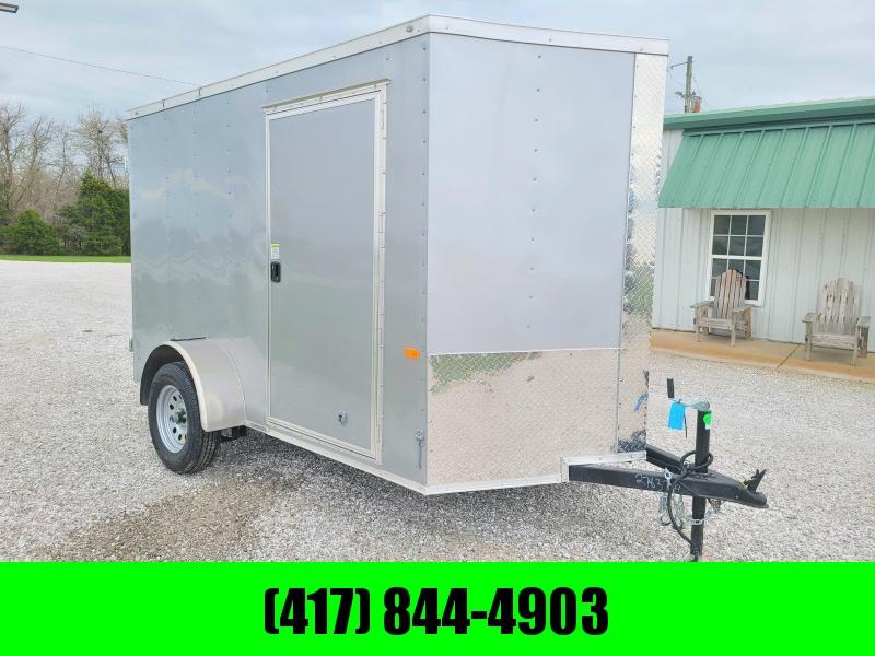 2021 Rock Solid 6 X 10  Enclosed Cargo w/ Barn Doors